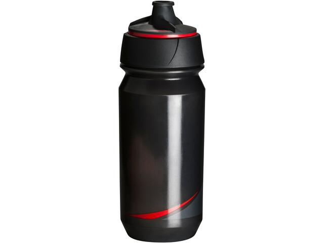 Tacx Shanti Twist Bidón 500ml, smoke/red